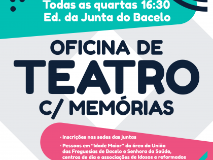 Oficina de Teatro com memórias