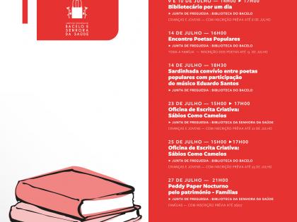 4 anos de Pólos de Leitura no Bacelo e na Senhora da Saúde