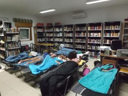 Acampar na Biblioteca iniciativa dos seus pólos de Leitura Pública