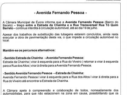 INFORMAÇÃO DE TRÂNSITO