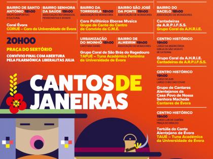 Acompanhe a tradição dos cantos de Janeiras em Évora no dia de Reis